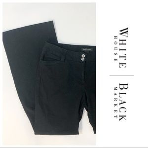 White House Black Market Modern Boot Black Jeans